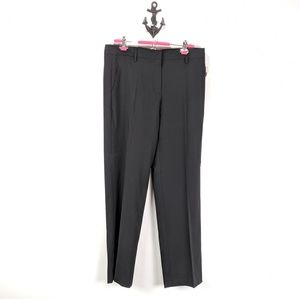 Gap Perfect Trouser Sz 10 R True Black NWT